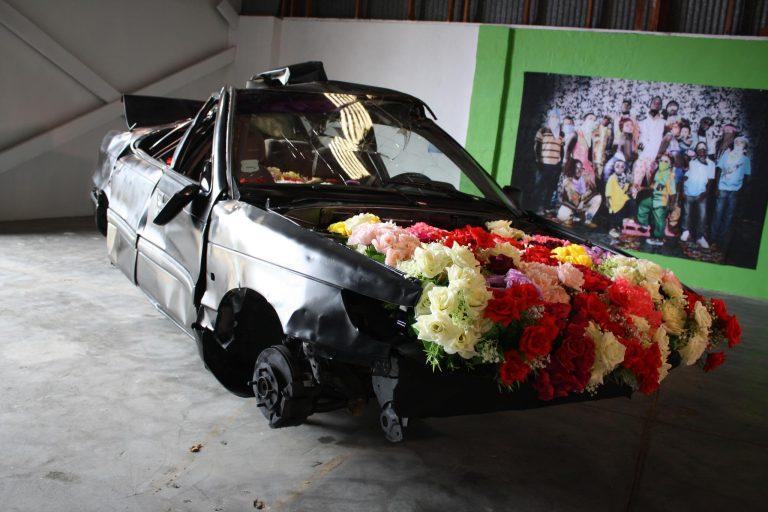 Stan Kuiperi. One For The Road. Exhibition Happy Islands. Prome Encuentro Bienal Aruba, 2012